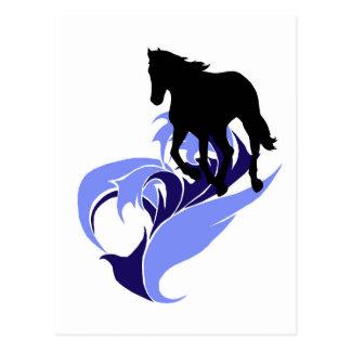 Spirit of Motion - Running Free - Horse Postcard