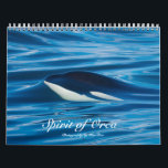 "Spirit of Orca Killer Whales Calendar<br><div class=""desc"">Killer Whales of the Salish Sea in the Pacific NW</div>"