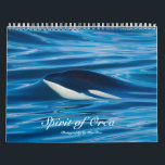 """Spirit of Orca Killer Whales Calendar<br><div class=""""desc"""">Killer Whales of the Salish Sea in the Pacific NW</div>"""