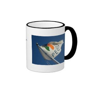 Spirit Of Peoria, Paddle Boat Adventure Ringer Coffee Mug