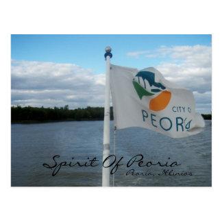 Spirit Of Peoria-Peoria, Illinios Postcard