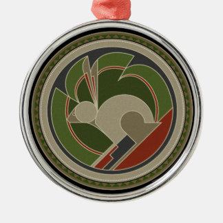 Spirit Of Rabbit Metal Ornament