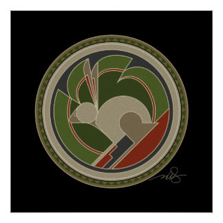 Spirit of Rabbit Print