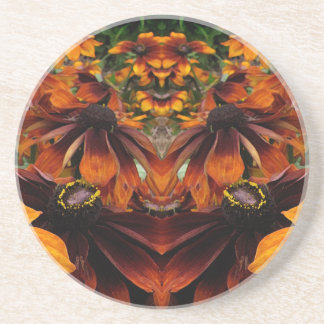 Spirit of Rudbeckia Sandstone Coaster