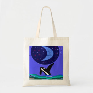 spirit of ruffles killer whale bag