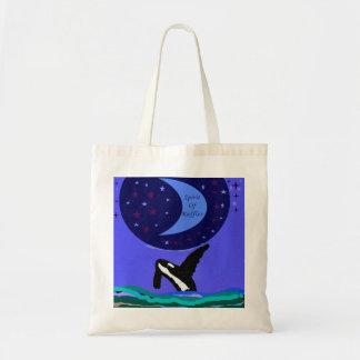 spirit of ruffles killer whale bag