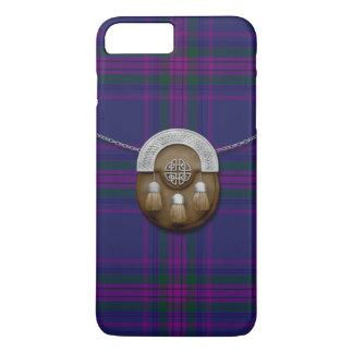 Spirit Of Scotland Tartan And Sporran iPhone 7 Plus Case