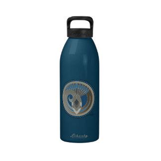 Spirit Of Sky Snake Drinking Bottle