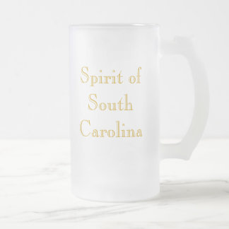 Spirit of South Carolina in Charleston Harbor 16 Oz Frosted Glass Beer Mug