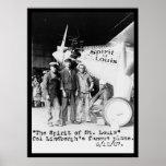 Spirit of St. Louis Airplane 1927 Print