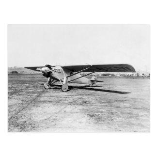 Spirit of St Louis Lindbergh Postcard