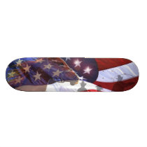 Spirit of the American Wild West Skateboard deck