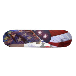 Spirit of the American Wild West Skateboard deck
