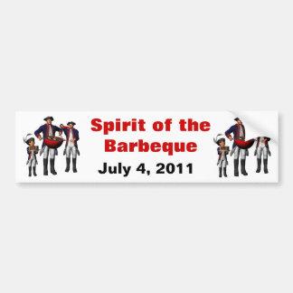 Spirit of the BBQ Bumper Sticker