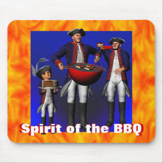 Spirit of the BBQ Mouse Pad