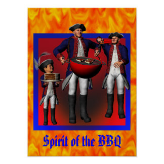 Spirit of the BBQ Poster