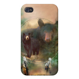 Spirit Of The Bear Art for 4 iPhone 4 Cover