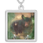 Spirit Of The Bear Wearable Art Necklace