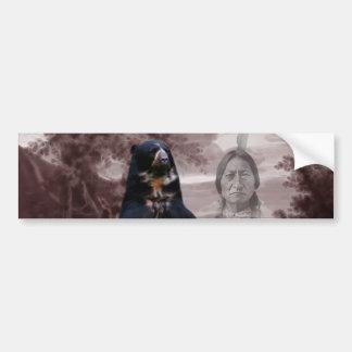 Spirit of the black bear bumper sticker
