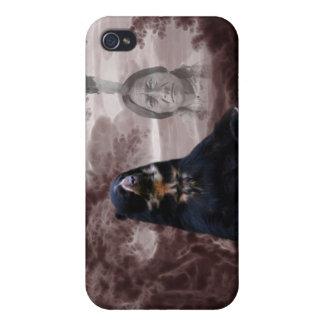 Spirit of the black bear iPhone 4 case