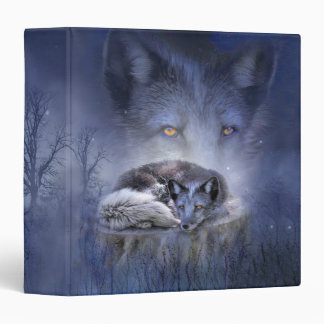 Spirit Of The Blue Fox Art Binder