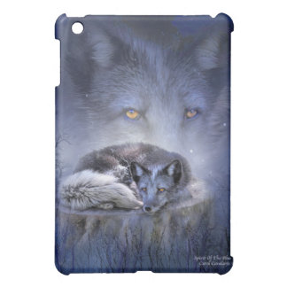 Spirit Of The Blue Fox Art Case for iPad Cover For The iPad Mini