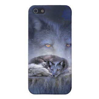 Spirit Of The Blue Fox Art Case for iPhone 4