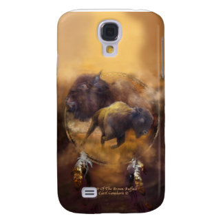 Spirit Of The Brown Buffalo Art Case for iPhone 3 Galaxy S4 Cases