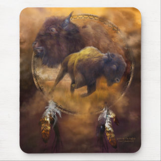 Spirit Of The Brown Buffalo Art Mousepad