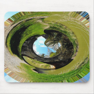 Spirit of the countryside mouse pad