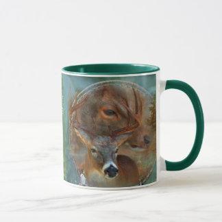 Spirit Of The Deer Art Mug