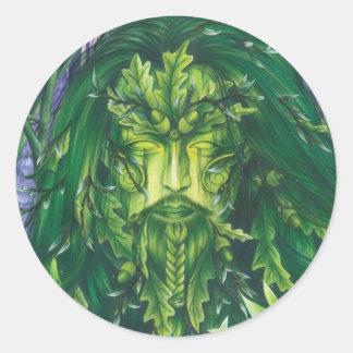 Spirit of the Forest Classic Round Sticker