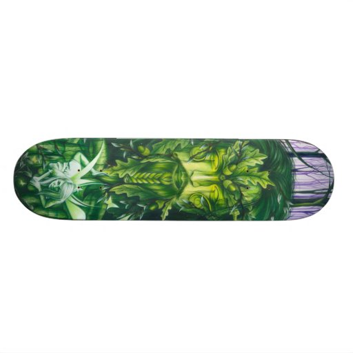 Spirit of the Forest Custom Skateboard