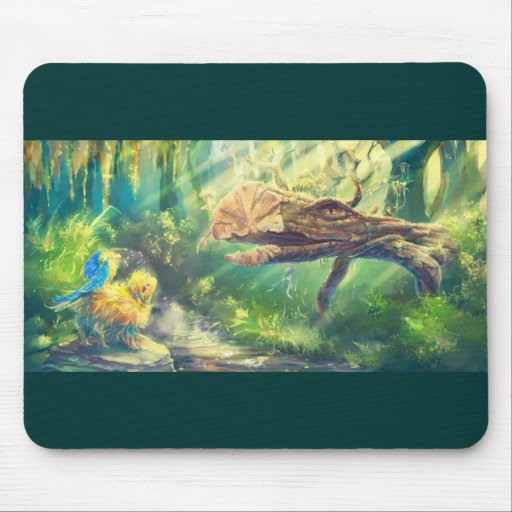 Spirit of the Forest Mouse Pad