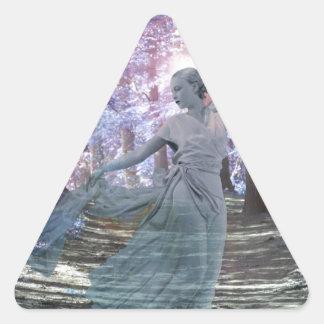Spirit of the Glen Triangle Sticker