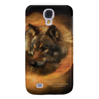 Spirit Of The Golden Moon Art Case for iPhone 3 Samsung Galaxy S4 Covers