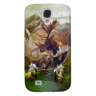 Spirit Of The Moose Art for iPhone 3 Galaxy S4 Cases