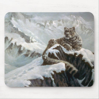 Spirit of the mountains, Snow Leopard Mousepads