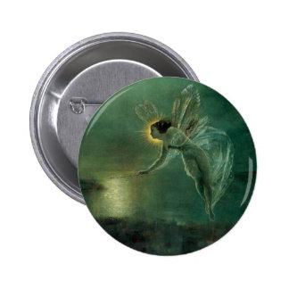 Spirit of the Night by Grimshaw, Victorian Fairy 2 Inch Round Button