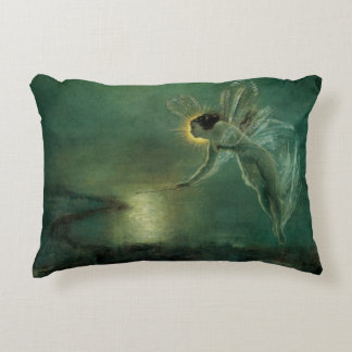 Spirit of the Night by Grimshaw, Victorian Fairy Decorative Pillow