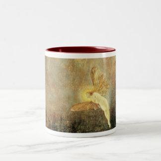 Spirit of the Night, by John Atkinson Grimshaw Two-Tone Coffee Mug