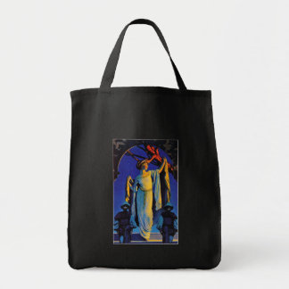 Spirit of the Night - Maxfield Parrish Tote Bag