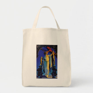 Spirit of the Night - Maxfield Parrish Bags