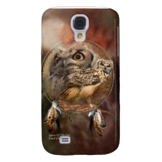 Spirit Of The Owl Art Case for iPhone 3 Galaxy S4 Cases