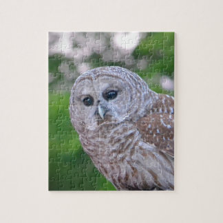 Spirit Of The Owl Jigsaw Puzzle