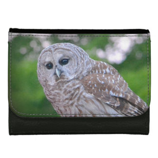 Spirit Of The Owl Leather Wallet For Women