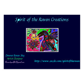 Spirit of the Raven Creations business card