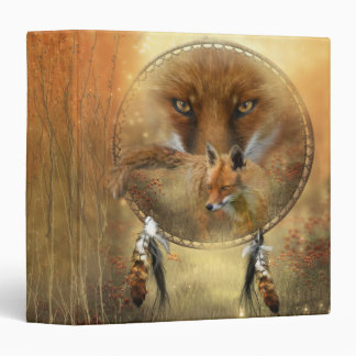 Spirit Of The Red Fox Art Binder