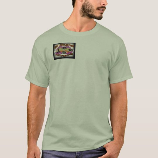 SPIRIT OF THE SAGE COUNCIL Men's Color Logo Green  T-Shirt