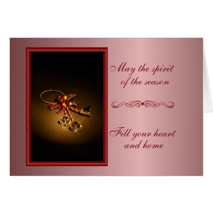 Spirit of the Season Christmas Card